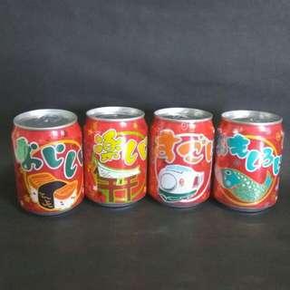 Coca Cola 可樂4罐 (已放水)