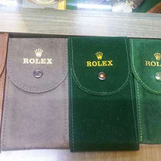 Rolex Pouches/ Calenders/translation booklets for Rolex