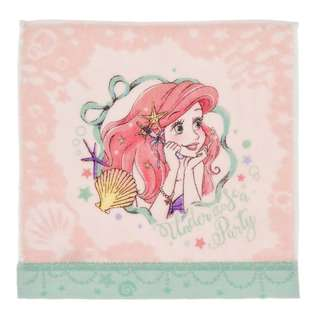Japan Disneystore Disney Store Ariel the Little Mermaid Princess Party Mini Towel Box Entering