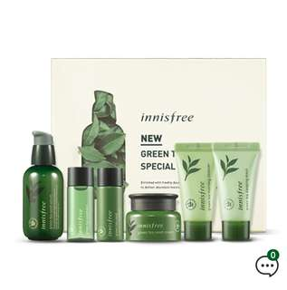 (NEW) Innisfree Green Tea Line Pack