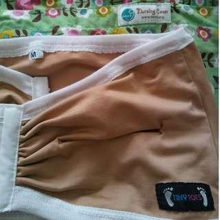 Nursing cover and handsfree pump bra