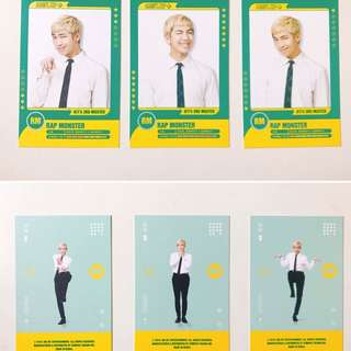 BTS 3rd muster player card (RM)