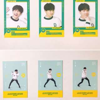 BTS 3rd muster player card (SUGA)