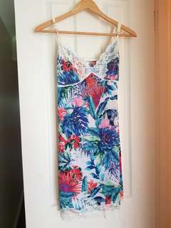 Silky camisole dress