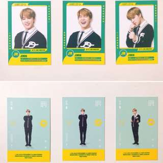 BTS 3rd muster player card (JIMIN)