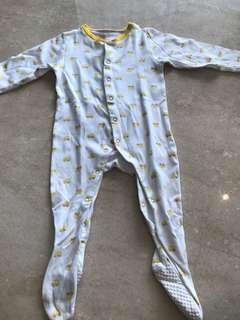 Mothercare sleepsuit for baby