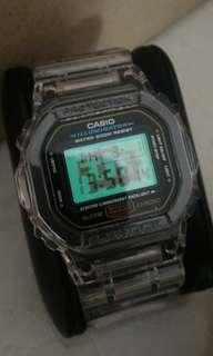 Casio G shock DW-5600E (限量版)