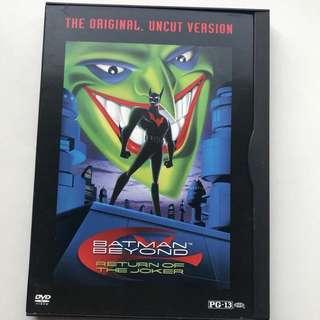 Batman Beyond Return of the Joker DVD
