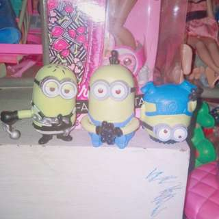 Minions from mcdo