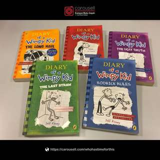Diary of a Wimpy Kid – by Jeff Kinney