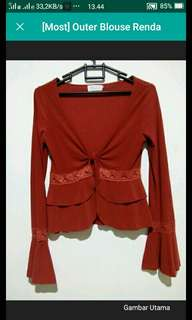 MOST Blouse Red