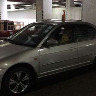 HONDA CIVIC VTI 2001
