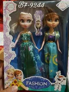 Barbie frozen