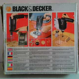 BLACK & DECKER Hammer Drill (10mm)衝擊鑽