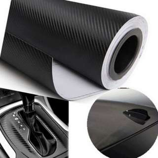 Wrapping Vehicle Motorcycle Auto Decals 5D Auto Vinyl Film Car Sticker Carbon Fiber
