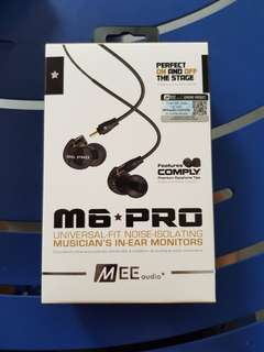 Brand new in box sealed Mee Audio M6 Pro
