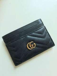 Gucci card holder GG logo 2018