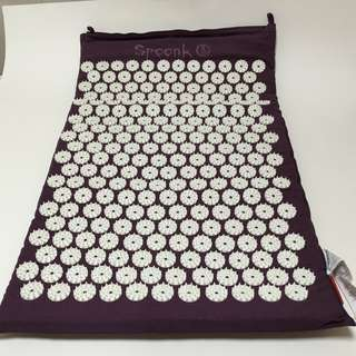 100% new新 – Spoonk Organic Hemp Regular Acupressure Massage Mat -有機健康指壓按摩墊/蓆