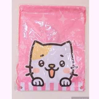 🚚 貓咪抽繩後背袋 #我有後背包要賣