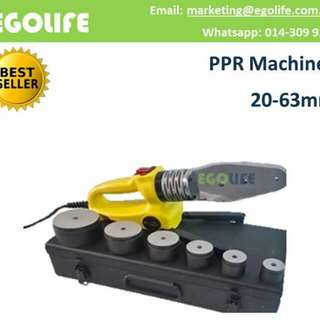 PPR Machines 20mm - 63mm Pipe Welding Machine, Pipe Heating Fuser