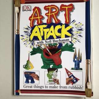 art books -great things to make from rubbish
