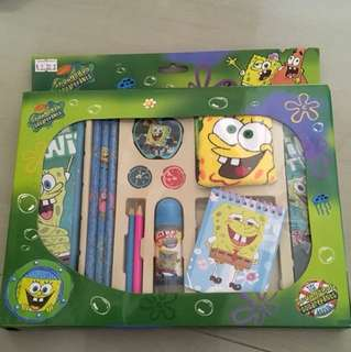 Spongebob square pants stationery