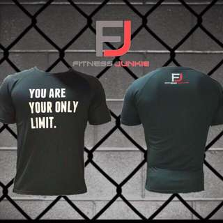 YouAreYourOnlyLimit DRIFIT tee [ FREE DELIVERY ][ INSTOCKS ]