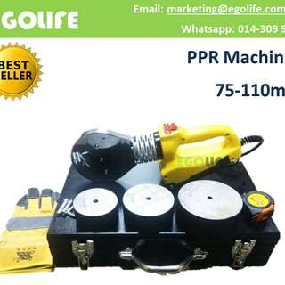 PPR Machines 75mm - 110mm Pipe Welding Machine, Pipe Heating Fuser