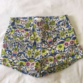 H&M printed hotpants