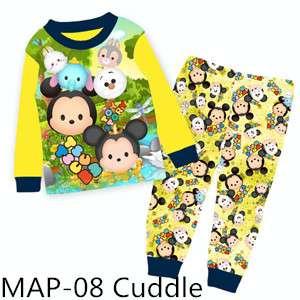 Tsum-Tsum long sleeve Pajamas MAP-08