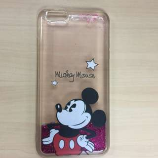 Mickey mouse glitters Iphone 6 plus
