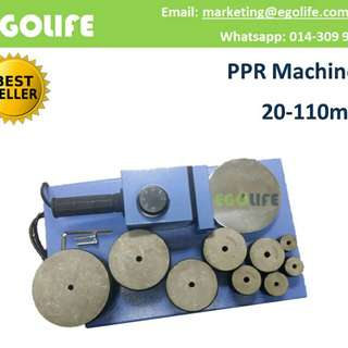 PPR Machines 20mm - 110mm Pipe Welding Machine, Pipe Heating Fuser