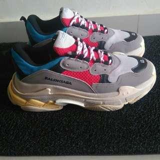 Sepatu sport balenciaga like new made italia