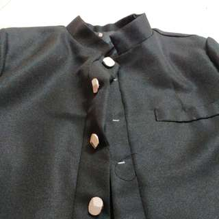 Male seifuku military high collar uniform