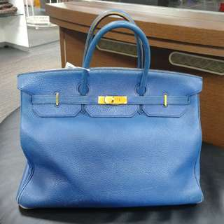Hermes birkin 40 france blue
