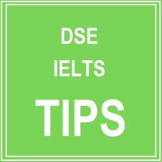 *DSE, IELTS TIPS*  NATIVE ENGLISH SPEAKER PERSONALIZE