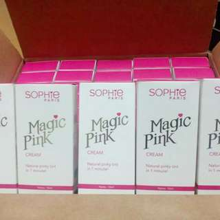 Sophie Magic Pink Cream