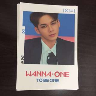 Wanna One Ong Seungwoo Postcard