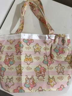 Little Twin Stars Lunch Bag Pouch Small