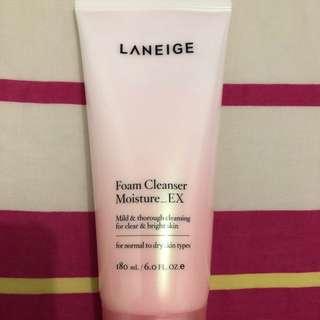 BNIB Laneige Foam Cleanser Moisture_EX