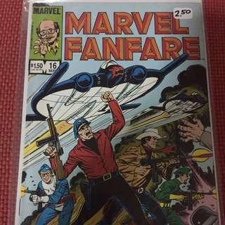 Marvel Marvel Fanfare #16