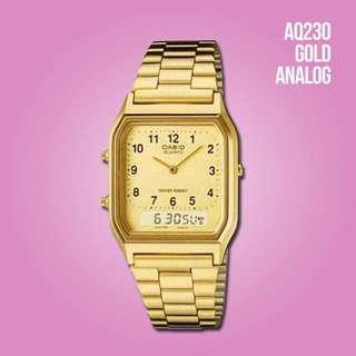 Original Casio watch AQ230