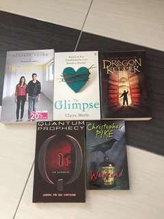 English novels combo