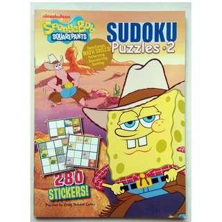Spongebob Squarepants Sudoku Puzzles 2 - 280 Stickers