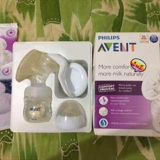 Avent Manual Breast Pump Natural