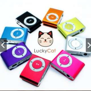 Metal Clip Mini MP3 Player(With FM)