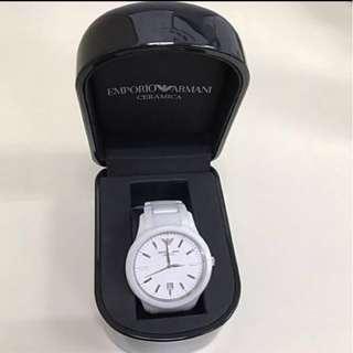 GA Emporio Armani Ceramica watch