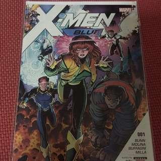 Marvel X-Men Blue #1