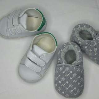 SALE! Size 20 Baby Sneakers (2 sets)