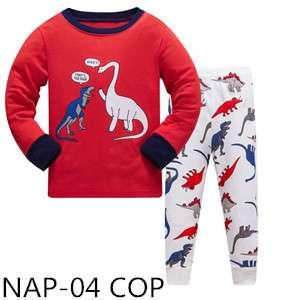 Dinosaur High 5 Long sleeve Pajamas